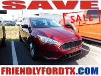 Used 2016 Ford Focus SE Hatchback 4-Cylinder DGI DOHC for Sale in Crosby near Houston