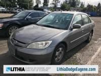 Used 2004 Honda Civic Hybrid w/ULEV Sedan in Eugene
