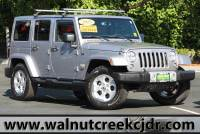 Certified Used 2015 Jeep Wrangler Unlimited Sahara Sport Utility 4D SUV in Walnut Creek