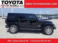 Used 2017 Jeep Wrangler Unlimited Sahara SUV