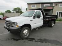 Used 2004 Ford F-450 DRW Dump Truck XL
