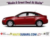 Used 2012 Chevrolet Cruze LT w/2LT Available in Sacramento CA