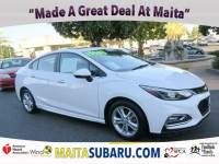 Used 2016 Chevrolet Cruze LT Available in Sacramento CA