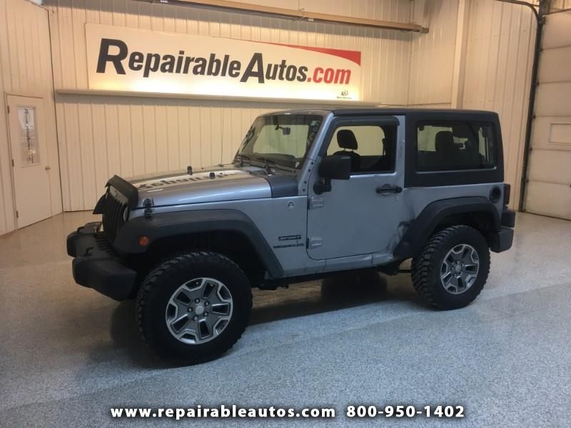 Photo 2015 Jeep Wrangler Sport 4WD Repairable Side Damage