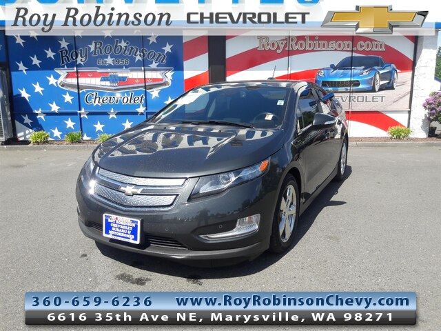 Photo Certified Pre- 2015 Chevrolet Volt Base in Marysville, WA