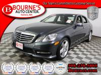 2013 Mercedes-Benz E-Class E350 4MATIC w/ Nav,Leather,Sunroof,Heated Front Seats, And Backup Camera.