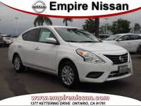 Used 2017 Nissan Versa 1.6 SV For Sale in Ontario CA | VIN: 3N1CN7AP9HL818623 | Fontana, Pomona and Chino Area