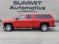 2014 GMC Sierra 1500 DOUBLE-SHORT-SLE1-Z71-CAP-4WD-BACKUP CAM-1 OWNER 4WD Double Cab 143.5 SLE