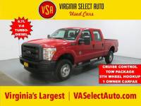Used 2015 Ford F-350 XL CREW CAB 4X4 Truck for sale in Amherst, VA