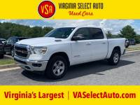 Used 2019 Ram 1500 Big Horn Crew Cab 4x4 Truck for sale in Amherst, VA