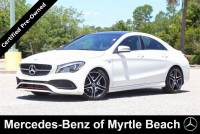 Used 2018 Mercedes-Benz CLA 250 Coupe For Sale in Myrtle Beach, South Carolina