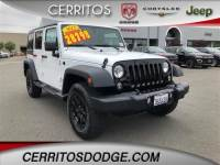 Used 2015 Jeep Wrangler Unlimited Sport 4x4 for Sale in Cerritos