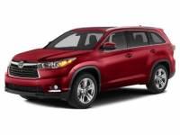 2014 Toyota Highlander XLE V6 SUV All-wheel Drive