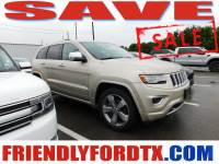 Used 2014 Jeep Grand Cherokee Overland SUV V8 Multi Displacement VVT for Sale in Crosby near Houston
