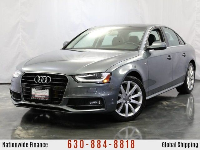 Photo 2014 Audi A4 2.0L Turbocharged Engine AWD Premium S-Line w Power Glass Sunroof, Audi Concert Premium Sound System, Bluetooth Connectivity, Xenon Plus Lighting, Heated Leather Front Seats
