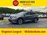 Used 2018 Nissan Murano SL SUV for sale in Amherst, VA