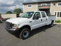 Used 2004 Ford F-350 4x4 Crew-Cab Service Utility Truck