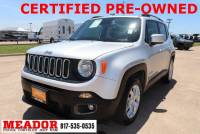 Certified Used 2018 Jeep Renegade Latitude FWD SUV