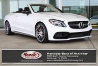 2018 Mercedes-Benz AMG C 63 AMG® C 63 S Convertible in McKinney