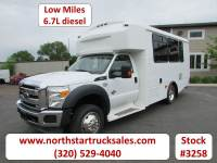 Used 2012 Ford F-550 6.7 16-Passenger Bus