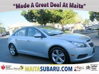 Used 2013 Chevrolet Cruze 2LT Available in Sacramento CA