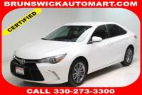 Certified Used 2017 Toyota Camry SE in Brunswick, OH, near Cleveland