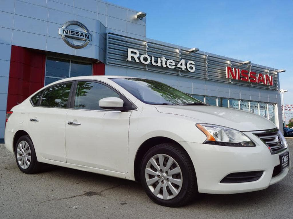 Photo Used 2013 Nissan Sentra SV Sedan for sale in Totowa NJ