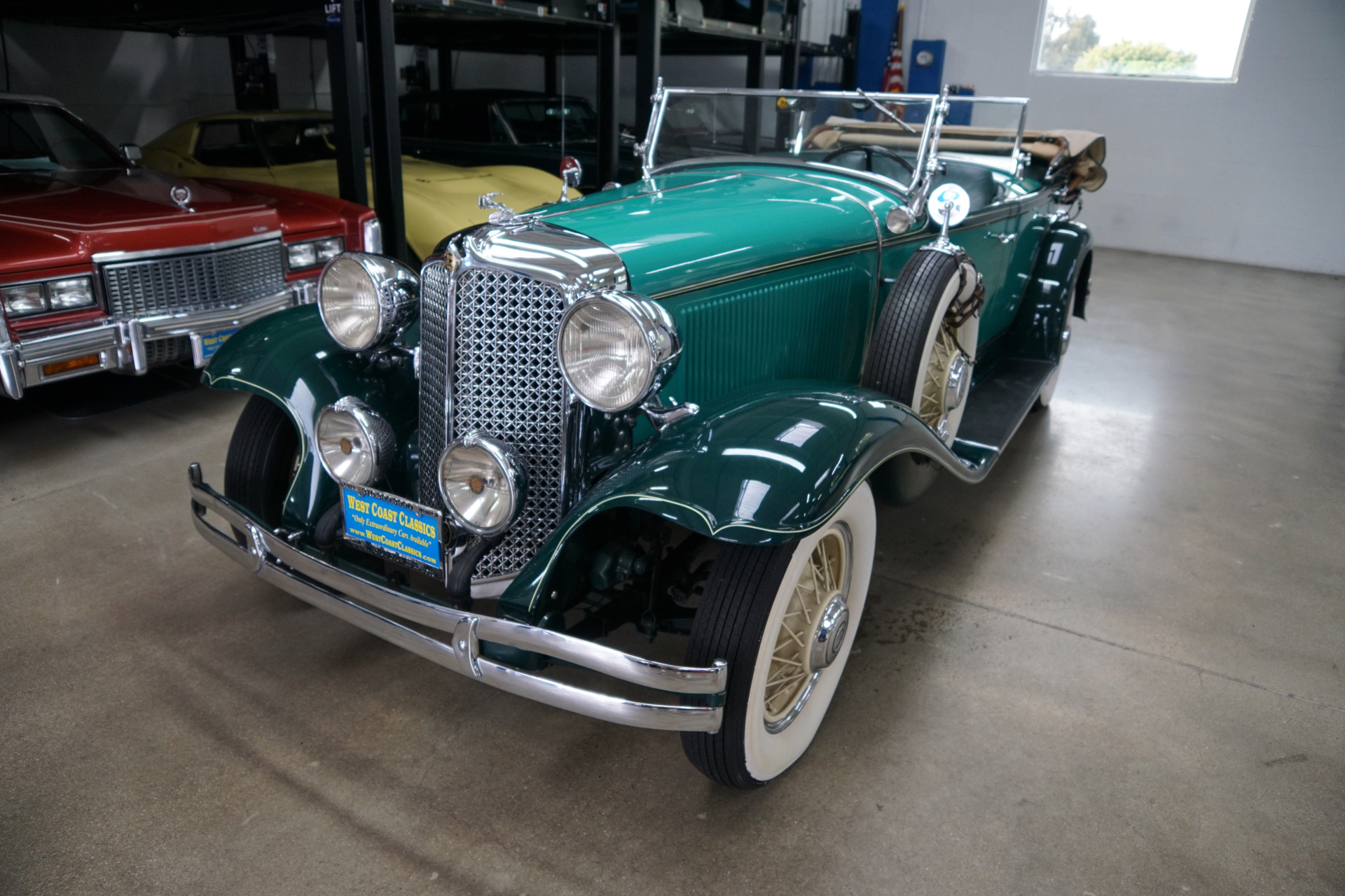 Photo 1931 Chrysler CD 2nd Series Dual Cowl Phaeton