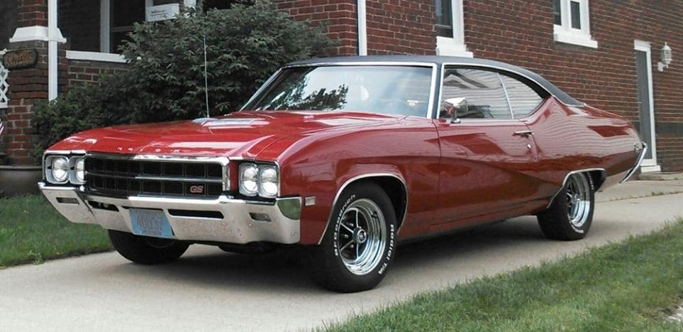 Photo 1969 Buick Skylark -GS MODEL- 400 WITH AUTOMATIC-
