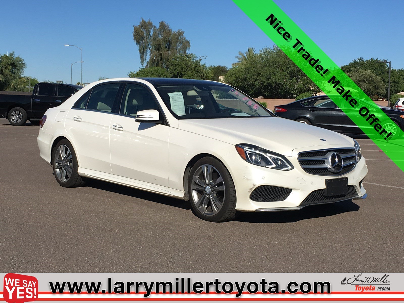 Photo Used 2014 Mercedes-Benz E-Class For Sale  Peoria AZ  Call 602-910-4763 on Stock 91899A