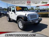 Used 2016 Jeep Wrangler JK Unlimited Sport 4X4 for Sale in Cerritos
