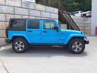 Used 2018 Jeep Wrangler JK Unlimited Sahara 4x4 SUV for Sale in Honesdale near Archbald
