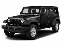 Pre-Owned 2016 Jeep Wrangler Unlimited Sahara 4x4 SUV