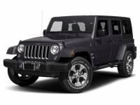 2017 Jeep Wrangler JK Unlimited Sahara 4x4 SUV For Sale in Montgomeryville