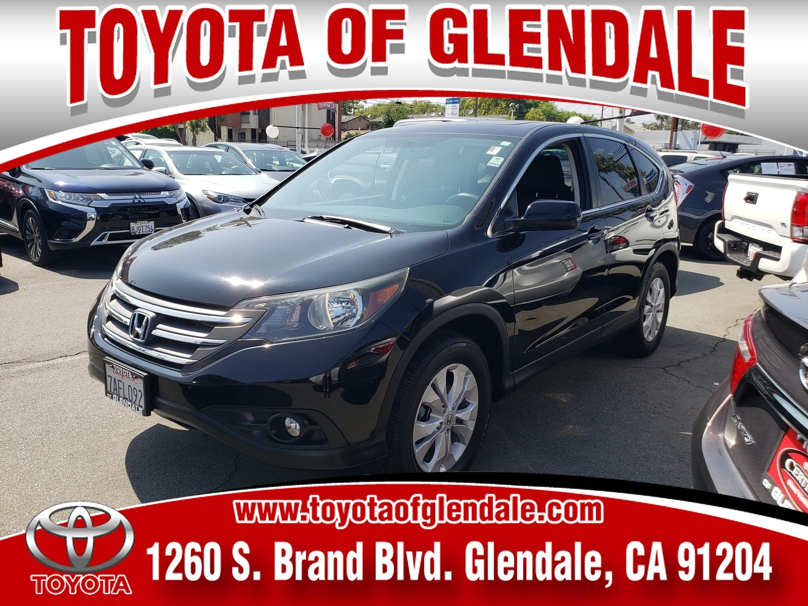 Photo Used 2013 Honda CR-V, Glendale, CA, Toyota of Glendale Serving Los Angeles