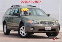 Used 2005 Subaru Outback 2.5i Wagon in Dublin, CA