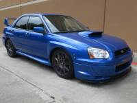 2004 Subaru Impreza Sedan (Natl) 2.5 WRX STi w/Gold Wheels