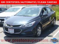Used 2016 Chevrolet Cruze LS Sedan in Burton, OH