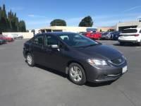 Used 2014 Honda Civic LX Sedan For Sale in Fairfield, CA