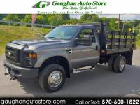 2009 Ford Super Duty F-350 DRW 4WD STAKE BODY REG CAB DUALLY XL