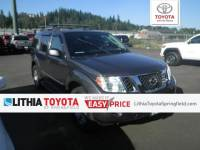 Used 2011 Nissan Pathfinder Silver SUV in Springfield