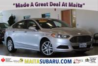 Used 2014 Ford Fusion SE Available in Sacramento CA