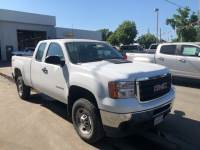 2013 GMC Sierra 2500HD Work Truck Extended Cab Short Bed 4x4