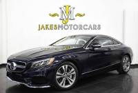 2018 Mercedes-Benz S-Class S560 Coupe 4MATIC ($140,945 MSRP)....SAVE $41,000 OFF NEW!