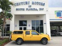 2004 Nissan Frontier 2WD XE 1 Owner Clean CarFax Tow Package Camper Top
