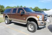 Pre-Owned 2011 Ford Super Duty F-250 SRW 4WD Crew Cab 6-3/4 Ft Box King Ranch