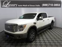 Pre-Owned 2017 Nissan Titan XD Platinum Truck Crew Cab for Sale in Sioux Falls near Brookings