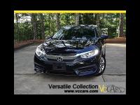 2016 Honda Civic Sedan LX CVT Back Up Camera BT