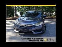 2016 Honda Civic Sedan EX CVT Blind Spot Camera Sunroof LED XM BT Alloys