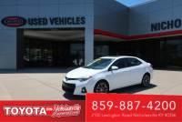 Used 2016 Toyota Corolla 4dr Sdn CVT Auto S Premium